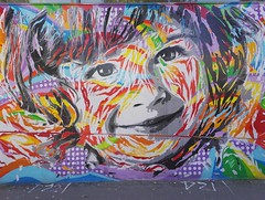 Colourful smile - Jo Di Bona 2016 (Carlos ZGZ) Tags: carloszgz 2d streetart colour jodibona paris 75013 cmstoolsphotoring creativecommons freepictures color couleur france francia europe europa