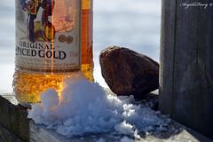 Oh Captain my Captain (AngelsDiarysPhotography) Tags: captain morgan alcohol snow winter whinter stone bridge angels angelsdiary nikon nikond31 nikond3100 photographer photography