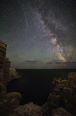 Milky Way, Pordenack Point, Lands End (MelvinNicholsonPhotography) Tags: pordenackpoint landsend cornwall astro milkyway night stars