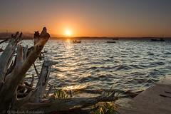 Rewa, Poland (P.W.Kozlowska) Tags: poland baltic sea seashore sunset evening calmness waves water