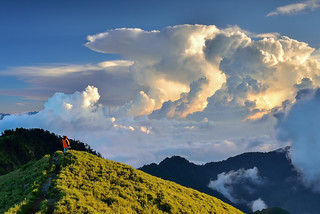 Enjoy Clouds, Mountain Hehuan 合歡山觀雲趣