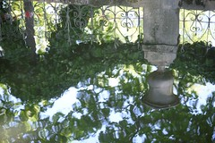 Paris reflections (geraldineh.dutilly) Tags: paris reflections water green fountain luxembourg park