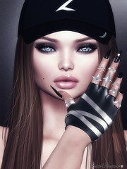 ♥♥♥ (hurricane.space) Tags: hair rings gloves codex mba head bento mesh eyes
