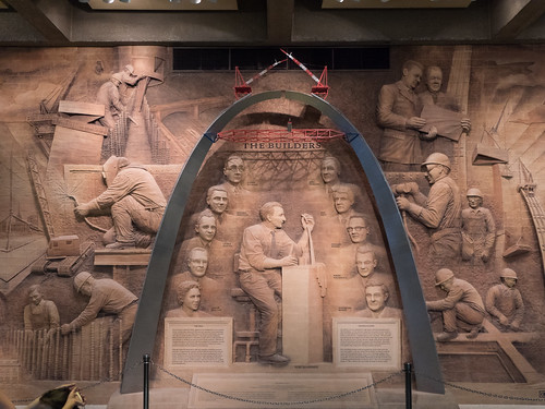The Builders - Scale Model of Gateway Arch
