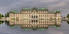 Schloss Belvedere - 26051401 (Klaus Kehrls) Tags: schlösser architektur historischegebäude spiegelung wien österreich