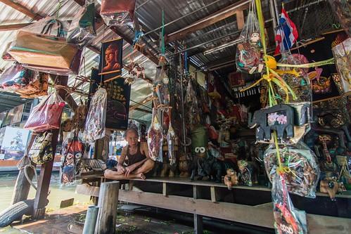 marche fottant damnoen saduak - thailande 28