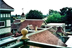 Winchester Mystery House ~ San Jose California ~ HIstoric (Onasill ~ Bill Badzo ~~~~ OFF) Tags: chl landmark sanjose ca california winchester mystery house mansion historic roof vista sarah rifle fortune residence gun magnate william wirt style architecture queen anne victorian tourist attraction travel tours guided 1884 haunted ghosts