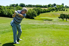 Ron Edwards on the 10th Tee (Neville Wootton Photography) Tags: 2017golfseason captainsdaysmens golf golfsectionmens ronedwards stmelliongolfclub teeshots saintmellion england unitedkingdom