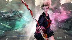 run SENPAI run (clau.dagger) Tags: hazy okinawasummerfestival school uniform gacha tableauvivant insol lelutka poseidonposes drd eve secondlife fantasy