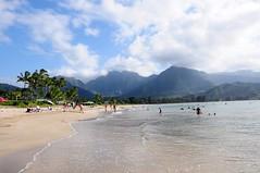 Hanalei Bay (-Mina-) Tags: hawaii usa kauai hanalei bay nature hills summer
