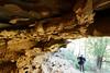 20170709-27-Bluff RIver Gorge cave (Roger T Wong) Tags: 2017 australia bluffrivergorge buckland rogertwong sel1635z sony1635 sonya7ii sonyalpha7ii sonyfe1635mmf4zaosscarlzeissvariotessart sonyilce7m2 tasmania bushwalk caves cliff erosion gorge hike outdoors sandstone tramp trek walk