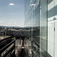 Along the glass (jaeschol) Tags: escherwyssplatz europa kantonzürich kontinent kreis5 schweiz stadtzürich suisse switzerland