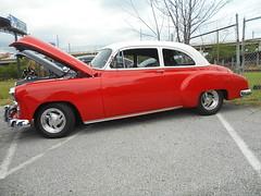 1949 Chevy Styleline (splattergraphics) Tags: 1949 chevy styleline coupe customcar carshow wilmoagogo wilmingtonde