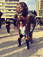 A Maze-ing Laughter English Bay sculptures (anthonymaw) Tags: vancouver canada art sculpture culture tourism