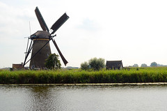 windmill (Wolfgang Binder) Tags: windmill canal water holland kinderdijk landscape scenery nikon d7000 zeiss distagon distagont2825