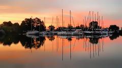 Scarborough marina (ossington) Tags: boats marina stillbeauty reflection