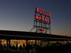 Pike Place Market, Seattle (dainty_diana) Tags: market washington shops shopping fish