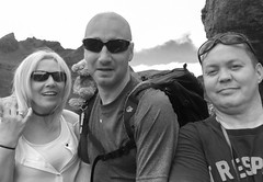 Selfie Time.. (Imagine8 Photography) Tags: scotland scottish benarthur thecobbler bw selfie togs southernhighlands fun hike nikon 3amigos