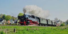 Bäderbahn  86 1323-4 (Körnchen59) Tags: bäderbahn dampflok steamlocomotive usedom ahlbeck pentax ks2 körnchen59 elke körner