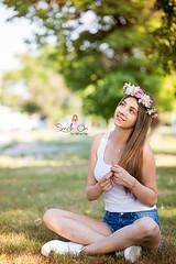 IMG_6908 (Galika_) Tags: teen girl long hair smile sunset sundown summer wreath flower portret memory natural naturallight white green canon 6d 85mm 8518 bulgaria