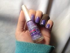 Azzule (Ludurana) (Daniela nailwear) Tags: azzule ludurana blurple cremoso esmaltes mãofeita