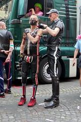 """bootsservice 17 1600729 (bootsservice) Tags: paris """"gay pride"""" """"marche des fiertés"""" bottes cuir boots leather sm motards motos motorcyclists motorbiker caoutchouc rubber uniforme uniform"""