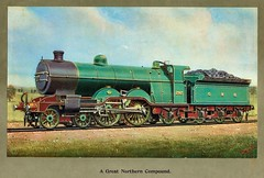 Great Northern Railway (UK) - GNR 4-4-2 steam locomotive Nr. 292 (HISTORICAL RAILWAY IMAGES) Tags: gnr steam locomotive 442 greatnorthern railway 292