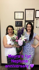 Congratulations on 1 Year of Service to Mayra Ochoa!