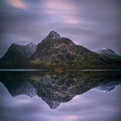 Petrichor (Jay Daley) Tags: 85mm a7r2 sony lofoten lake storm water mountain reflection norway