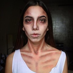 Makeup by @golden.eye.makeup (ineedhalloweenideas) Tags: ineedhalloweenideas halloween makeup make up ideas for 2017 happy october 31 autumn fall spooky body paint art creepy scary pumpkin boo artist