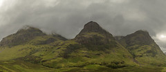 The Three Sisters of Glencoe (James Fraser Singer) Tags: thethreesistersofglencoe glencoe scotland highlands scottishhighlands alba panoramic a82 bideannambian