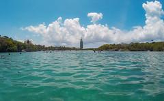 Entering the Lagoon (Jerry Bowley) Tags: rivieramaya xelha waterslide ecopark lagoon lighthouse allinclusive