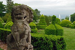 topiary guardian (BehindBlueEyes) Tags: pa pennsylvania longwoodgardens kennettsquare statue topiary