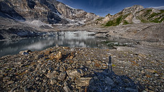 Shooting (Dani Maier) Tags: spiringen uri schweiz ch klausenpass bergsee alpen gletscher gletschersee