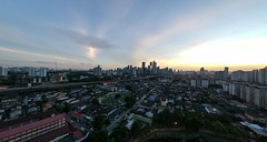 Panoramic view of Sunset 🌅 in Kuala Lumpur, Malaysia 🇲🇾 (@jailanish) Tags: malaysia kualalumpur mycity myhome aerial panoramic drone djimalaysia spark djispark dji