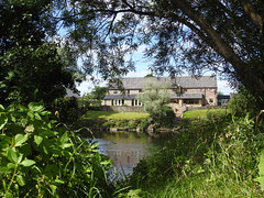 Believe you can and you're halfway there (Lancashire Lass :) :) :)) Tags: quote explore nature countryside balderstone tree riverside riverribble water summer july lancashire ribblevalley hall house