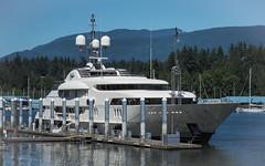 mv. calypso (heinz41) Tags: epl7 olympus lumix1260mmf3556 panasonic boats ships yachts coalharbour northshore vancouver