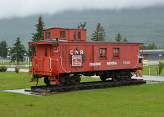 CN Caboose 79149 (Stuart Axe) Tags: caboose canada britishcolumbia canadianrockies cn canadiannationalrailwaycompany canadiannational mcbride railway wagon 423880 79149