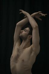 Ariel Mercuri (' A r t ') Tags: denmark man nude ballet dancer pose guy portrait hands skylight chest muscles dark black naturallight albania denkongeligballet copenhagen theroyaldanishballet flesh portraiture arielmercuri ariel mercuri body