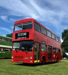 M1014 - A714THV . Anstey Park . Alton bus rally . 16/7/17 (busmothy) Tags: a714thv m1014 londontransport metrobus mcw alton busrally