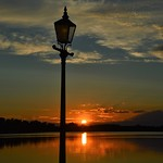Lough Erne sunset. thumbnail