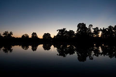 Lake Reflection 1 (uberwize) Tags: canon 5d 24105 f4 l landscape reflection lake serbia lazarevac ocaga blue nature