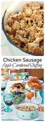 Chicken Sausage Appl (alaridesign) Tags: chicken sausage apple cornbread stuffing