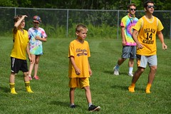 TSC 072817 028 (Tolland Recreation) Tags: boys girls kids children youth tweens summer camp fun games activities sports dodgeball athletes athletics swimming sand sun lake pond exercise running throwing tolland connecticut jumping diving raft beach
