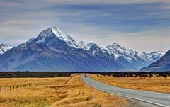 Mount Cook (Aoraki in Maori language) (Lim SK) Tags: mt cook aoraki southern alps tekapo canterbury