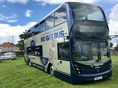 Stagecoach 80036 / DD16 GAS (TEN6083 (kieron mathews)) Tags: sunderland seaburn biogasbus enviro400mmc alexander n280ud scania dd16gas 80036 stagecoachinsunderland stagecoach nebuses bus