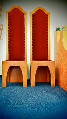 Beisitzer... (Mareike Scharmer) Tags: kinderräume mareikescharmer kunterbuntekinderstuben paintedfurniture acryl farben kostbarekindermöbel