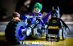 The Race (minifigphoto) Tags: batman joker robin dccomics lego legophotography fun race bike batbike toyphotography toyphotographers
