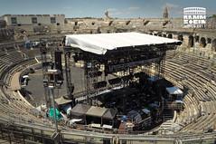 Arènes de Nîmes with Rammstein stage (Eloise Varin) Tags: rammstein arènes de nîmes