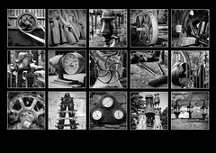 Wortley Top Forge Polyptych (S.R.Murphy) Tags: polyptych wortleytopforge wortley thurgoland yorkshire england englishheritage bw blackandwhite monochrome machinery machine forge iron fujifilmxt2 southyorkshiretradeshistoricaltrust lightroom stuartmurphy